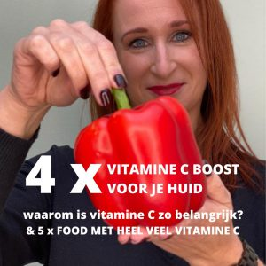 puur vitamine c huid